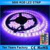 5 tester 12V impermeabilizzano la striscia di SMD 5050 il RGB LED