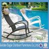 Mobília de jardim ao ar livre Cadeira de balanço de Rattan com travesseiros