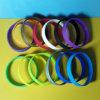 Wristband in bianco su ordinazione del silicone del commestibile