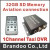 Sprache Customized Single Channel Sd Card Car DVR für Taxi Used