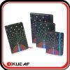 Cahier en cuir coloré d'unité centrale (Kcx-1200038)