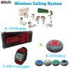 Sistema de llamadas inalámbrico K-336 + Y-650 + O3-G Popular en Hotel Restaurante