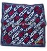OEMの農産物はロゴのデザインによって印刷された昇進の綿のヘッドバンドのスカーフをカスタマイズした
