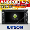 KIAリオ(W2-A7517)のためのWitson Android 4.2 System Car DVD
