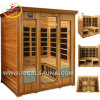 De verre Infrarode Sauna van de Luxe van de Zaal van de Sauna van de Sauna (ids-LC400)