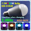 2.4G Milight WiFi Controlled RGBW Full Color Smart LED Bulb