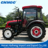 Tractor agricolo Hot Sale New Design 4WD 55HP Wheel Tractors