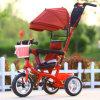 傘を持つ赤ん坊の三輪車/子供/子供Pedicab