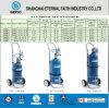 Liga de alumínio de médicos de alta pressão do cilindro de gás oxigênio