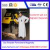 Separador permanente do cilindro magnético do pó seco para a indústria química