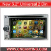 New 6.2  GPS, Bluetooth를 가진 Universal 2 DIN를 위한 특별한 Car DVD Player. (AD-8684)