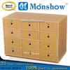 Wooden12 Drawers School Locker per Moonshow Office Furniture