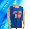 100% Polyester De l'homme d'usure de basket-ball sans manches