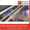 Mode-Film II métallique et films de stratification de la chaleur d'hologramme (AFTP-H)