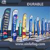 Drapeau de plage d'impression de Digitals, étalage de drapeau de plage, indicateur de vol d'indicateur de vent