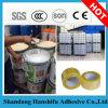 Pegamento de acrílico del pegamento piezosensible de la exportación de China de la base caliente del agua