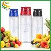 주문 플라스틱 레몬 과일 Infuser 물병 (BPA는 해방한다)