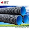 Fogna dell'HDPE & tubo ondulati doppi di drenaggio dal fornitore cinese