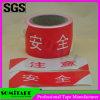 Película flexible de la barricada de la alta visibilidad de la cinta Sh531 de Somi para la precaución del peligro