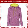 Дешевые индивидуальные моды женских Zip up спортзал Hoodies розовый (ELTWGHI-9)