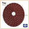 4/100mm Metal Resina Bond Diamond Almofada de polir piso de chapa de moagem para betão