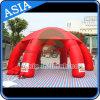 イベントのための簡単な携帯用膨脹可能なくものドームのテント