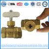 Kugelventil-Wasser-Messinstrument-Absperrschieber-Teile