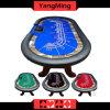 Таблица Техас Holdempoker/нержавеющий игрок таблицы 10 покера Техас казина ноги h подъема 2-Поколения держателей чашки (YM-TB020)