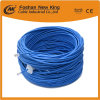La fábrica China de 0,45 mm 0,5 mm Bc CCA CAT6 cable LAN Cable Newwork