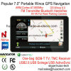 ODM ISDB-TV 7.0 Alquiler de carretilla Marine, navegación GPS con transmisor de FM, AV-en la cámara trasera, dispositivo de navegación GPS, Bluetooth para teléfono móvil, TMC Tracker