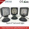 Emark 4pouce carré 15W/27W/48W à LED phare de travail du chariot