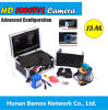 30m o inventor HD 600TV de 7 de  peixes do sistema da câmara de vídeo TFT LCD alinha a câmera subaquática