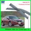 De auto Wacht van de Zon van de Vizieren van het Dak van het Venster Accesssories voor Hodna Crosstour 13