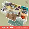 중국 제조 빛 Prefabricated 주택건설로 강철 별장 집