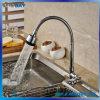 Mélangeur en laiton froid de bassin de cuisine de levier de Singel de chrome seulement
