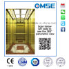 Ascenseur de bâtiment commercial avec petite salle de machines