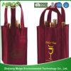 Sacco non tessuto non tessuto della bottiglia del sacco della birra del sacco del vino di disegno del cliente (MECO196)