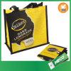 Sac à provisions pliable peu tissé recyclé (MECO354)
