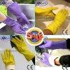 Nmsafety Красочные Кухня очистки Латекс бытовые перчатки