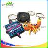 Promotie Zacht Plastic pvc Keychain van de Douane MOQ 100PCS 2D/3D