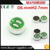 6 * 2,7Mm em forma de cilindro Microfone de condensador Electret SMT SMD