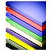 Il PVC riveste (colori) lo strato di Xt-214/Acrylic