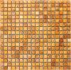 Gouden Geeloranje Marmeren Mozaïek