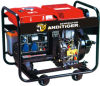 Home Use 3.0kw/3000watt 100% Copper Air Cooled Open Frame Type Diesel Generator