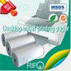 Rpm-145 Blanc Soft BOPP Matériel pour les étiquettes imprimables de bureau