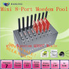 USB 8 Port SMS Modem Pool mit SIM Card