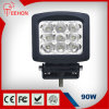 Truck를 위한 90W Square 크리 말 Offroad LED Work Light