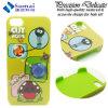 Caixas coloridas personalizadas do telefone para a tampa do iPhone para as caixas 3D plásticas coloridas personalizadas iPhone