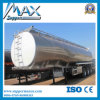 Camión cisterna de acero Semirremolque