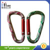 Carabiner D-Shaped coloreado para la promoción